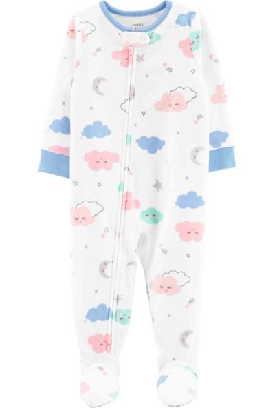 CARTERS Kız Bebek Tekli Pijama Tulum 18367011