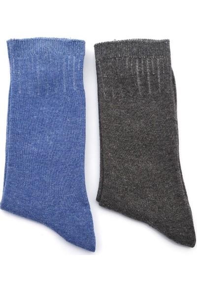 Ciorap Kadın Düz 2'li Çorap 9256928