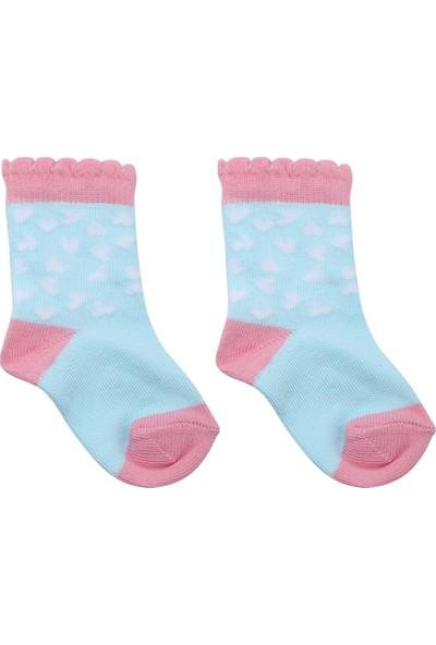 Ciorap Bebek Desenli 2'li Çorap 12041276
