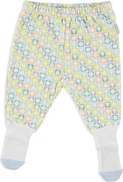Premini Geometrik Organik Bebek Çoraptolon