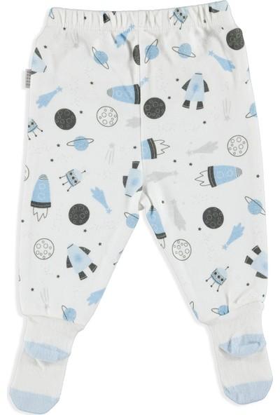 Premini Uzay Organik Bebek Çoraptolon