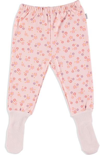Premini Çıtır Çiçek Organik Bebek Çoraptolon