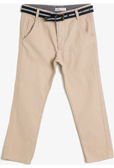 Koton Erkek Çocuk Cep Detayli Pantolon
