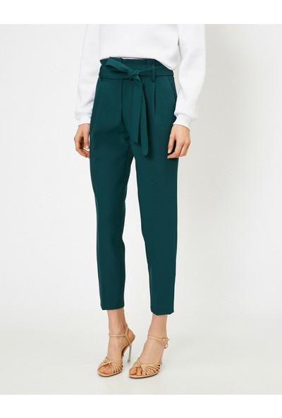 Koton Kadın Beli Baglamali Pantolon