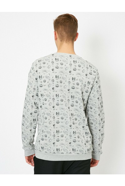 Koton Star Wars Lisansli Baskılı Sweatshirt