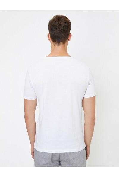 Koton Cep Detaylı T-Shirt