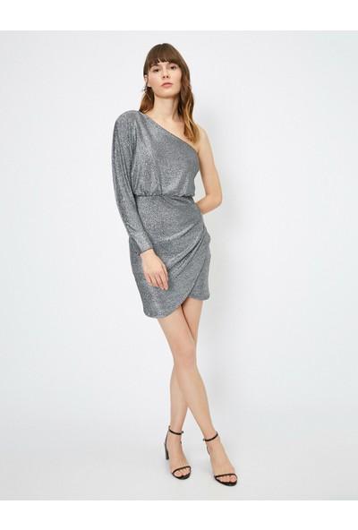 Koton Omuz Detayli Elbise
