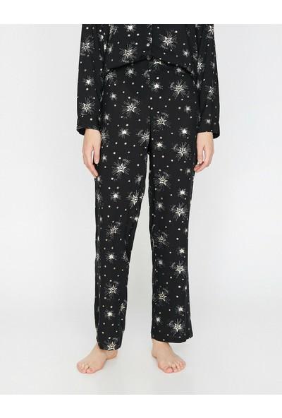 Koton Desenli Pijama Alti