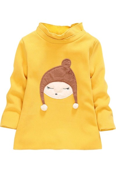 GOB2C Kışlık Kız Çocuk Polar Sweat