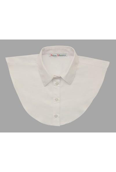 Hope Blooms Kadın Sahte Gömlek Yaka (Beyaz)
