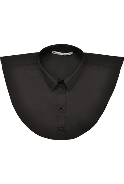 Hope Blooms Kadın Sahte Gömlek Yaka (Siyah)