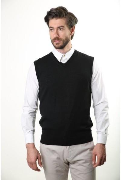 Sweater V Yaka Erkek Triko Süveter 2361-1