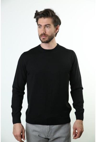 Sweater Bisiklet Yaka Erkek Triko 6002