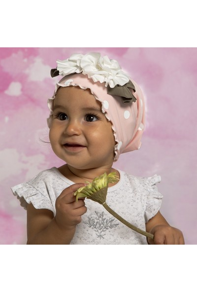 BabyDora Fiyonk Kız Çocuk Bere