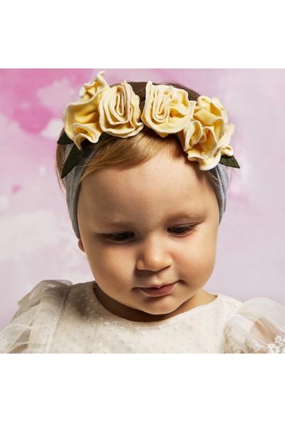 BabyDora Gül Kız Çocuk Bandana
