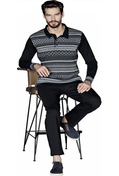Güryıldız Erkek Yeni Sezon Uzun Kol Pijama Takım
