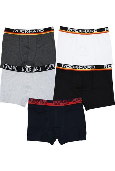 Rockhard Erkek Boxer 5'li Paket