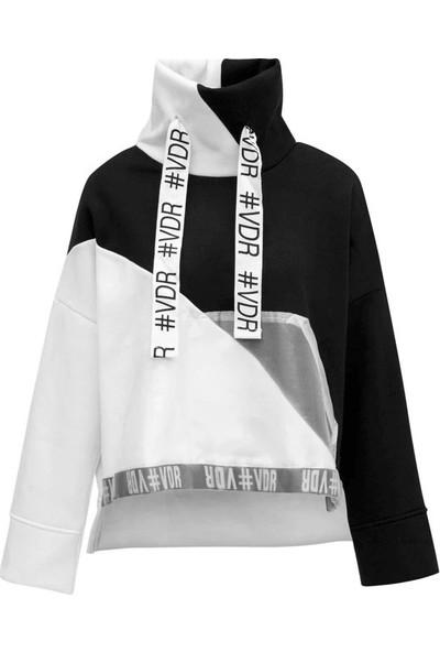 #Vdr 6060 Kadın Sweatshirt Siyah