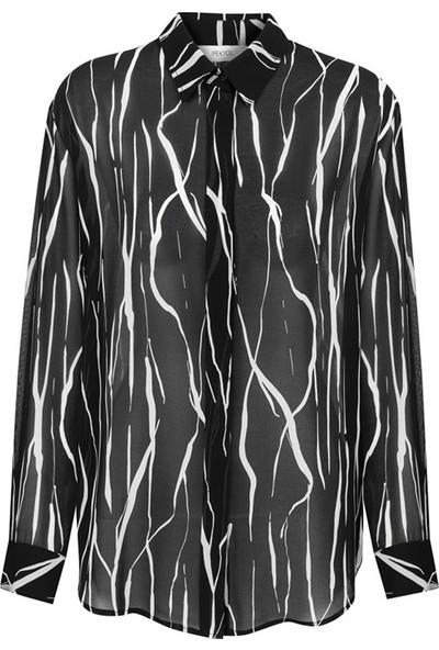 ipekyol 25122 Kadın Gömlek Siyah
