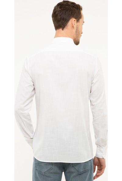 Pierre Cardin Erkek Dokuma Gömlek 50216663-Vr024