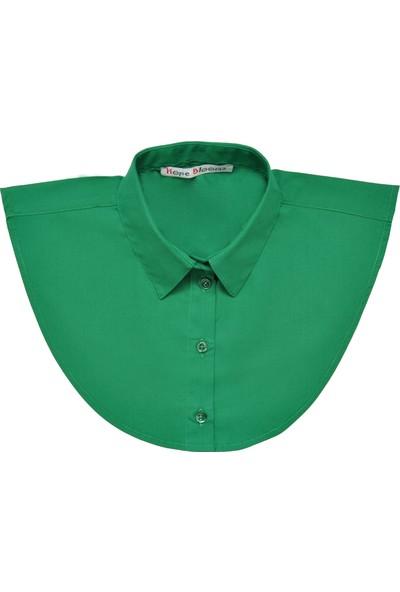 Hope Blooms Kadın Sahte Gömlek Yaka (Yeşil)