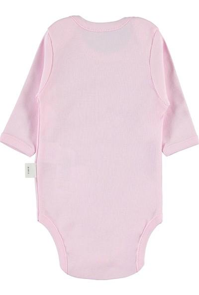 Civil Baby Bebek Çıtçıtlı Badi 0-24 Ay Pembe