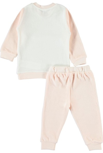 Civil Baby Kız Bebek Takım 6-18 Ay Somon