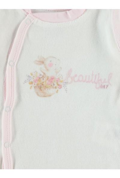 Civil Baby Kız Bebek Sweatshirt 3-12 Ay Pembe