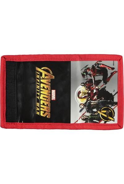Avengers Erkek Çocuk Cüzdan 3+ Yaş Kırmızı