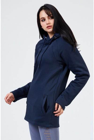 Gymwolves Kapüşonlu Kadın Sweatshirt