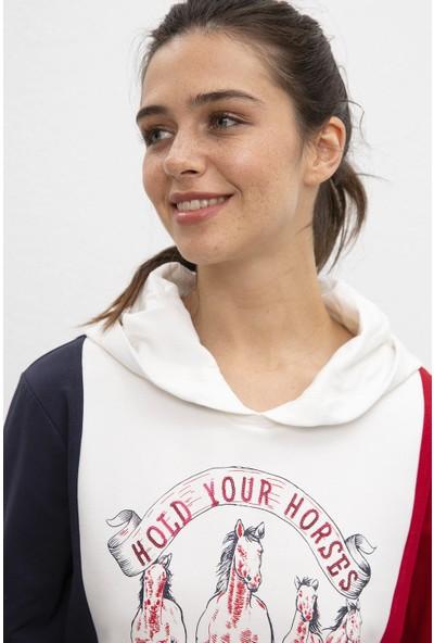 U.S. Polo Assn. Kadın Sweatshirt 50206528-Vr019