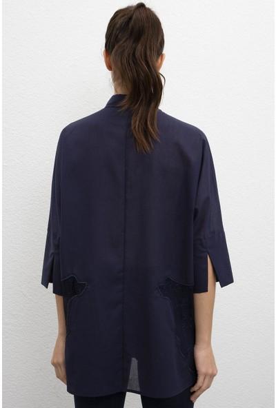 U.S. Polo Assn. Kadın Dokuma Gömlek 50207153-VR033