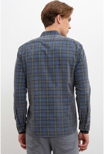 U.S. Polo Assn. Erkek Dokuma Gömlek 50207601-Vr024