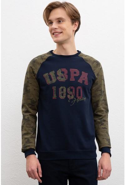 U.S. Polo Assn. Erkek Sweatshirt 50207752-Vr033
