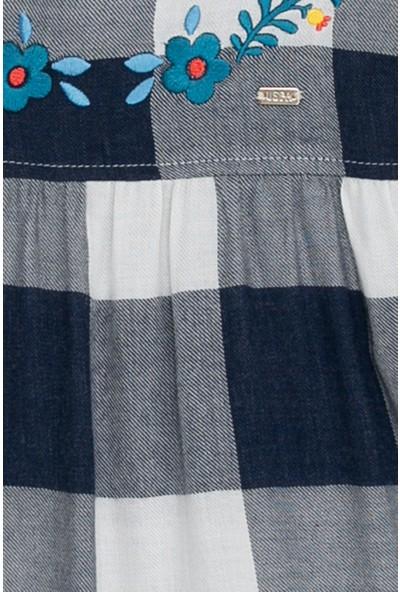 U.S. Polo Assn. Kız Çocuk Dokuma Gömlek 50208143-Vr033