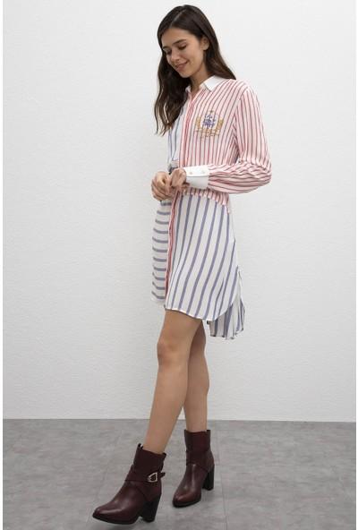 U.S. Polo Assn. Kadın Dokuma Elbise 50209441-Vr033