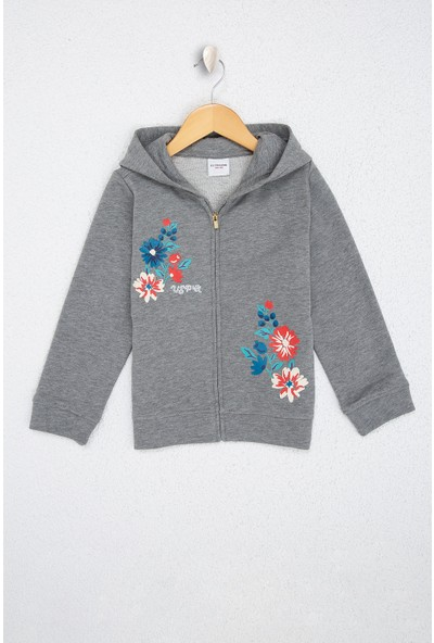 U.S. Polo Assn. Kız Çocuk Sweatshirt 50210559-Vr086