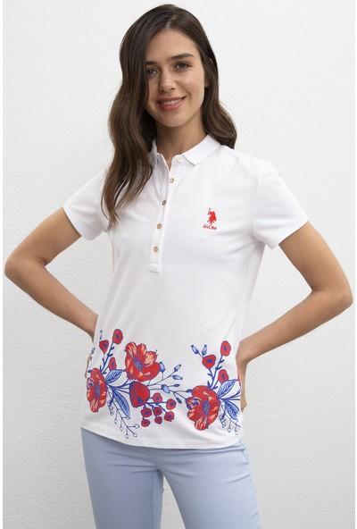 U.S. Polo Assn. Kadın T-Shirt 50216135-Vr013