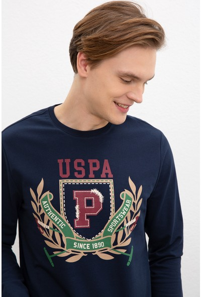U.S. Polo Assn. Erkek Sweatshirt 50216284-Vr033