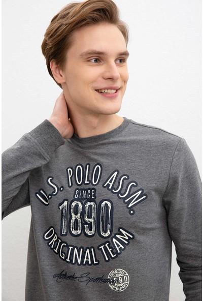 U.S. Polo Assn. Erkek Sweatshirt 50216301-Vr081