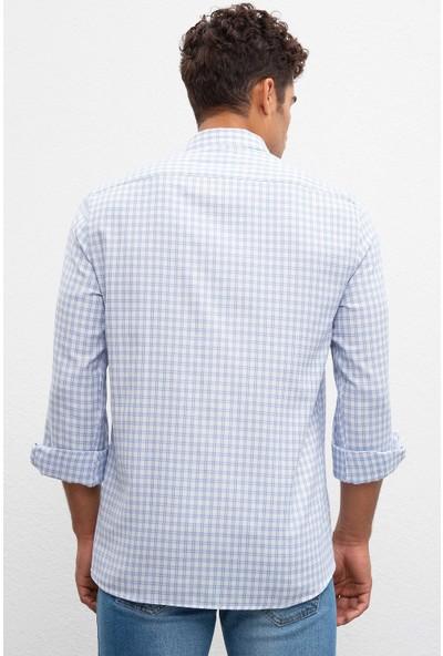 U.S. Polo Assn. Erkek Dokuma Gömlek 50219804-Vr036