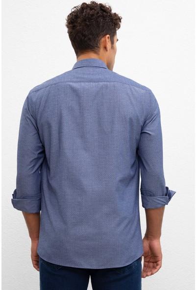 U.S. Polo Assn. Erkek Dokuma Gömlek 50219841-Vr033
