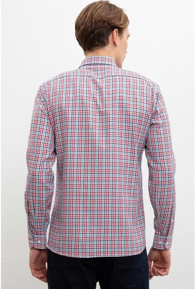 U.S. Polo Assn. Erkek Dokuma Gömlek 50219878-Vr102