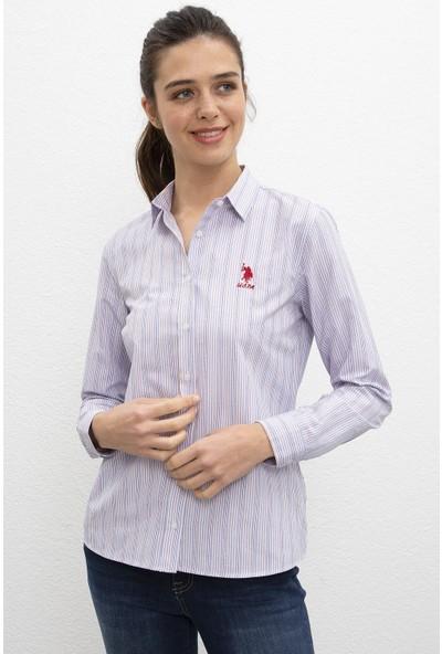 U.S. Polo Assn. Kadın Dokuma Gömlek 50220057-Vr033