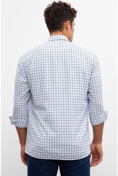 U.S. Polo Assn. Erkek Dokuma Gömlek 50220081-Vr054