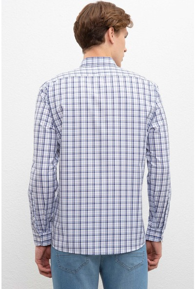 U.S. Polo Assn. Erkek Dokuma Gömlek 50220097-Vr036