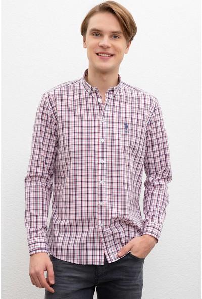 U.S. Polo Assn. Erkek Dokuma Gömlek 50220097-Vr030