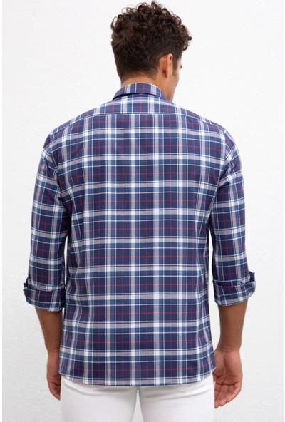 U.S. Polo Assn. Erkek Dokuma Gömlek 50220128-Vr036