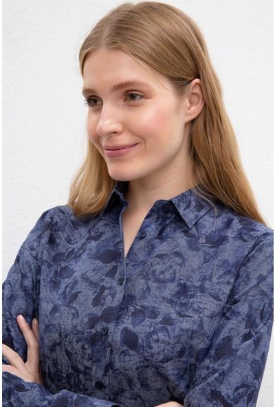 U.S. Polo Assn. Kadın Dokuma Gömlek 50220131-Vr033