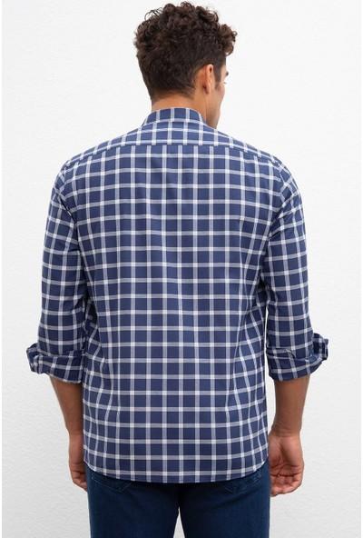 U.S. Polo Assn. Erkek Dokuma Gömlek 50220226-Vr033